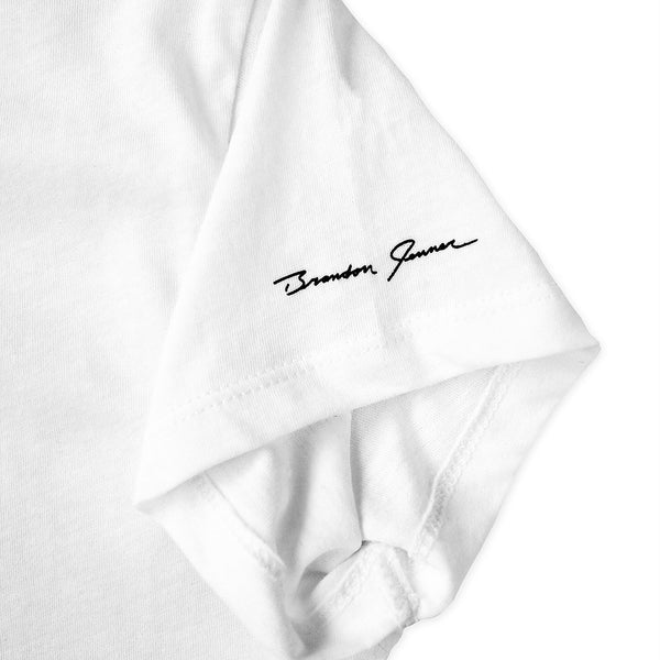 Brandon Jenner - Women's Peace Hand Tee (White)