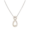 Oval Pav̩ Infinity Enhancer with Chain by John Medeiros Jewelry Collections.