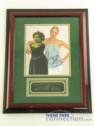 "CAMERON DIAZ SIGNED Original Autograph 19""X15"" Framed Photo Photograph Display"