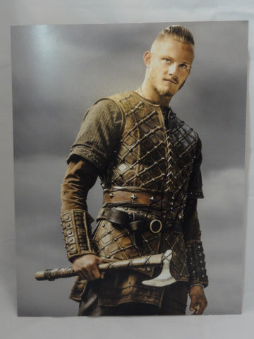 "ALEXANDER LUDWIG Bjorn VIKINGS Original Autograph 11""x14"" Signed Photo"