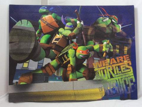 Teenage Mutant Ninja Turtles LED Light Up Canvas Art Print