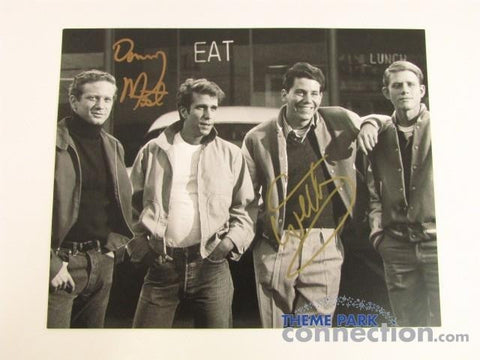 HAPPY DAYS TV Don Most Ralph Anson Williams Potsie Signed Autograph B&W Photo