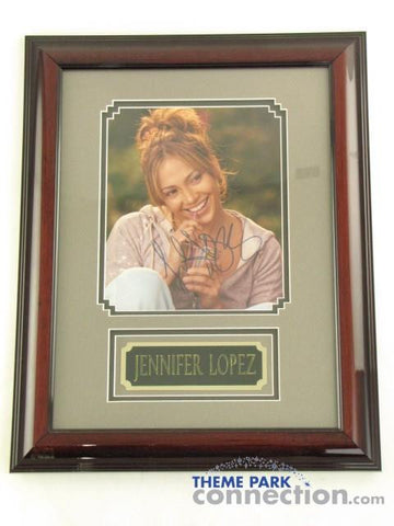 "JENNIFER LOPEZ SIGNED Original Autograph 19""X15"" Framed J LO Photo Display"