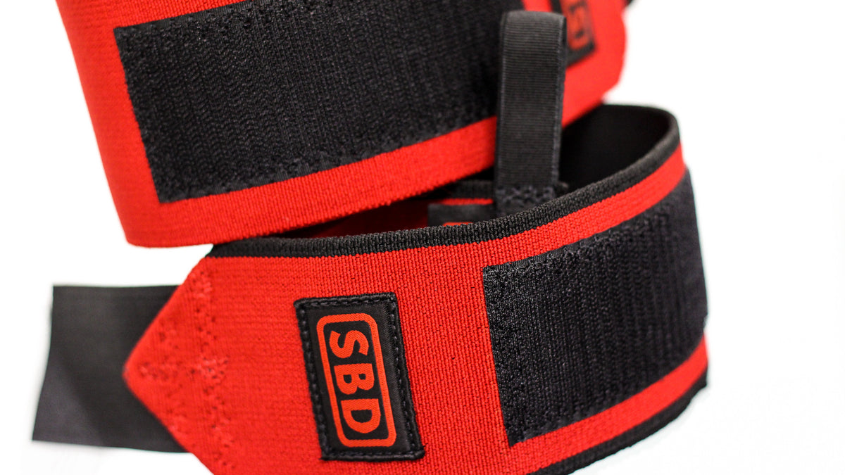 SBD Wrist Wraps - Stiff & Flexible