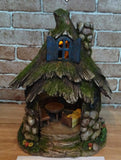 FD54 - Stone Solar Fairy House - *WINTER SPECIALS 50% OFF PRICE LISTED BELOW