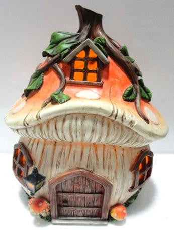 FD57 - Mushroom Solar Fairy House -   *WINTER SPECIALS 50% OFF PRICE LISTED BELOW