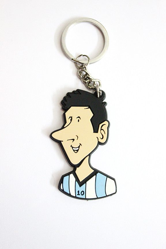 Messi Keychain by Graphicurry