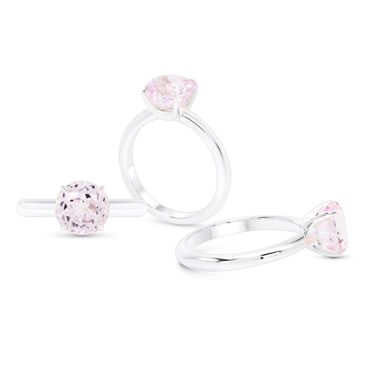 Light Pink Sapphire Starlet Ring