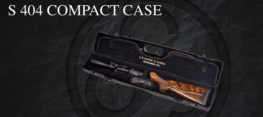 Sauer 404 super Compact Case, www.clunycountrystore.co.uk