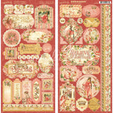 Princess Cardstock Stickers 12inX12in
