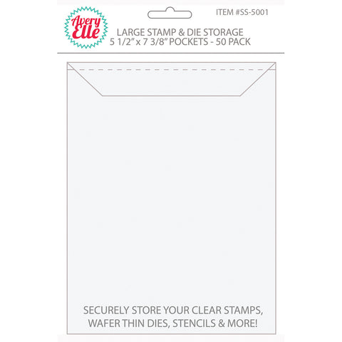 Avery Elle Stamp and Die Storage Pockets Large