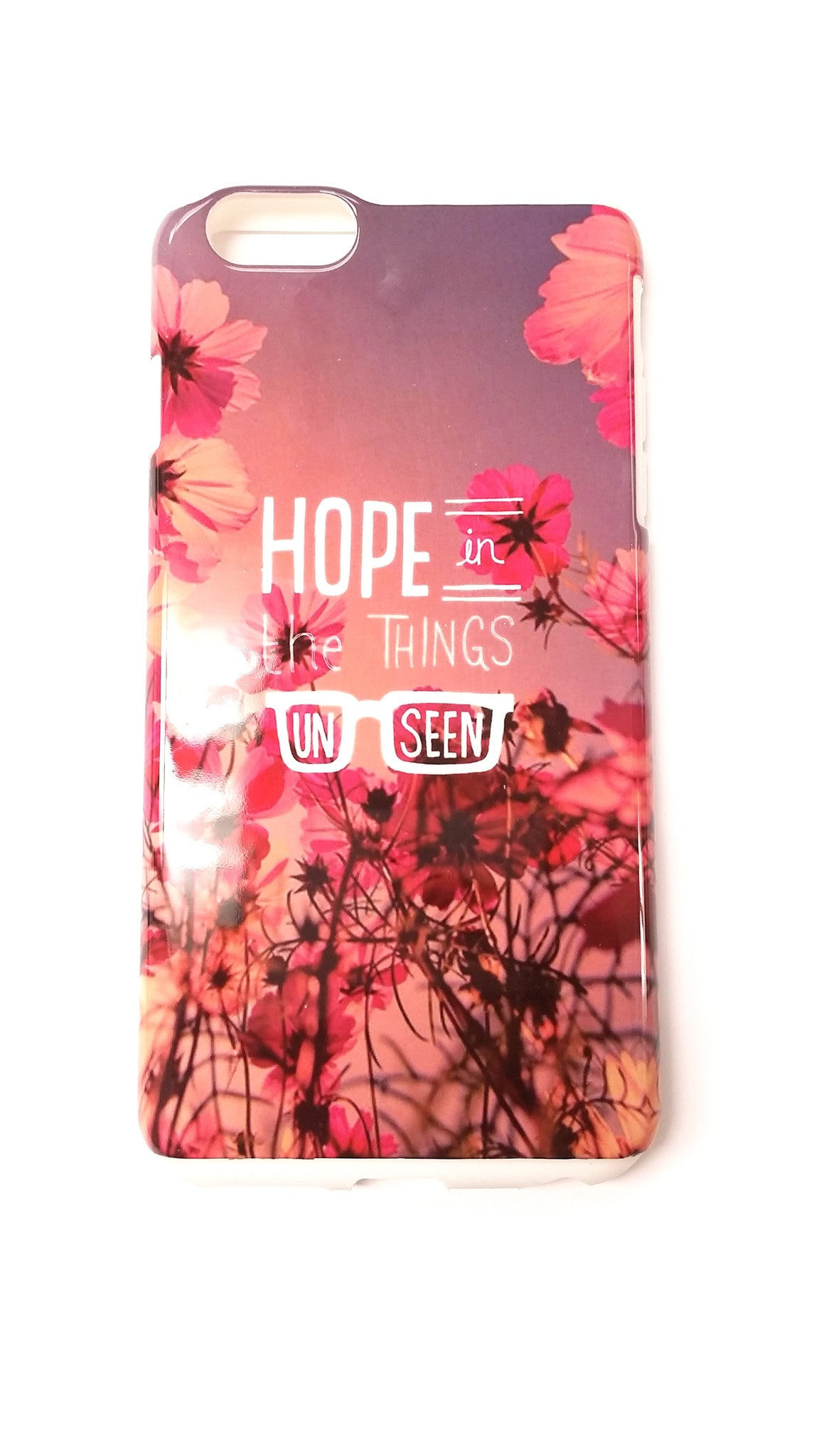 Hope In The Things Unseen iPhone 6/6S/6 Plus Case - Good Row Clothing  - 1