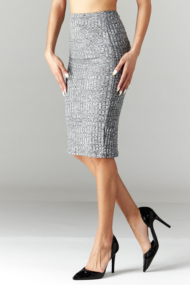Love Tree: Simplicity is Key Pencil Skirt - Good Row Clothing  - 1