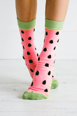 Woven Pear: Watermelon Babies Sock