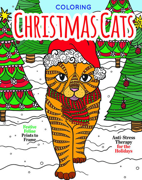 Coloring Christmas Cats