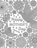 Coloring Mother's Day Happy Mother's Day page