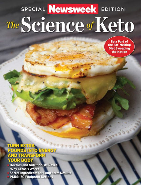 Newsweek Science of Keto Special Edition Magazine cover