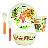 Bamboo Dinnerware Set - Our World