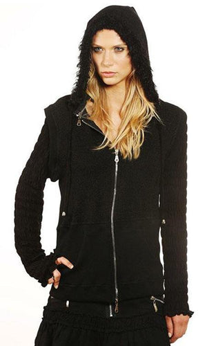 Lucy Zip Up Hoodie - Sita Couture