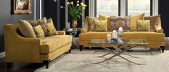 Viscontti Gold Sofa Set