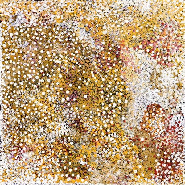 Polly Ngale (Kngale), 'Wild Plum', 2009, 09J011, 90x90cm - Delmore Gallery