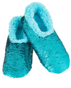 Kid's Snoozies! Reversible Bling Sherpa Lined Slippers