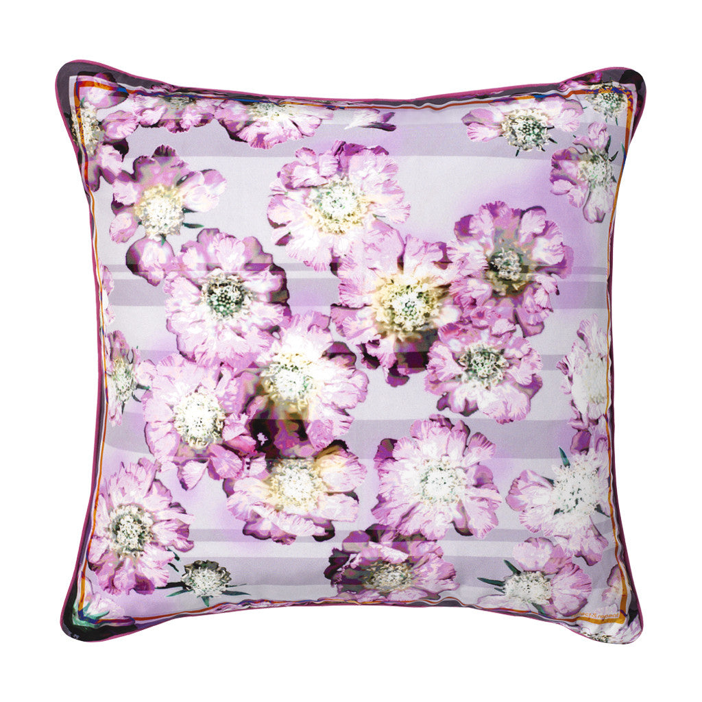 Jenna Silk Cushion - Reflect and Repeat  - 1