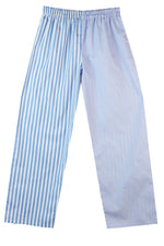 Pale Blue wide/thin stripe Pyjama Bottoms