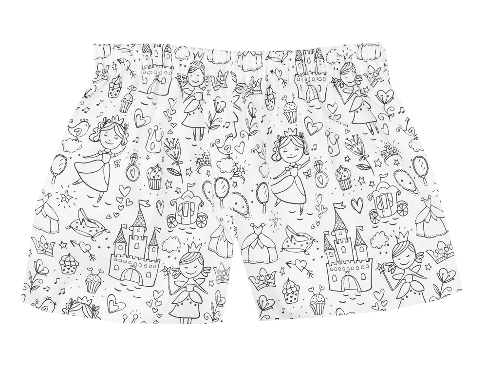 Colour Your Own Shorts - Fairy