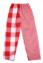 Red Check Large/Small Pyjamas Bottoms