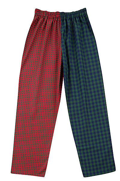 Red/blue/green check Pyjama Bottoms