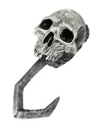 Skull Pirate Hand Hook