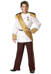 Elite Prince Charming Costume - Nevermore Costumes
