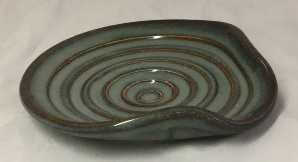 Spoon Rest - Blue - Poterie Ginette Arsenault - 6