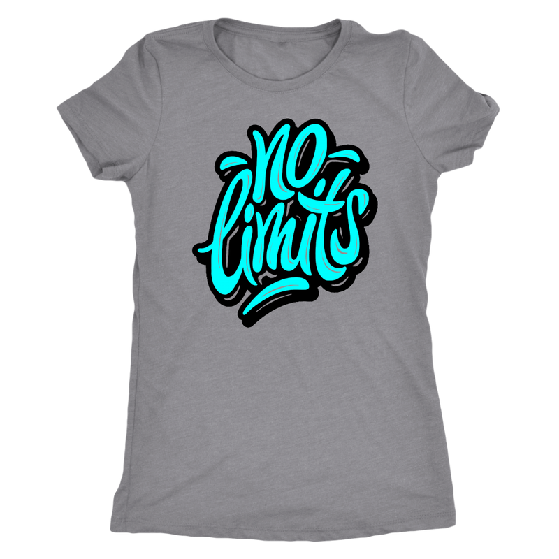 No Limits (Aqua) T-Shirt