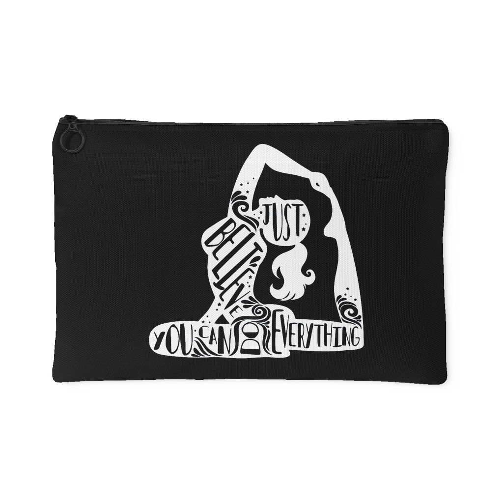 Lady Silhouette 1 Accessory Pouch (Black) - 2 sizes