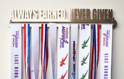 Medal Display Hanger - Always Earned. Never Given.™