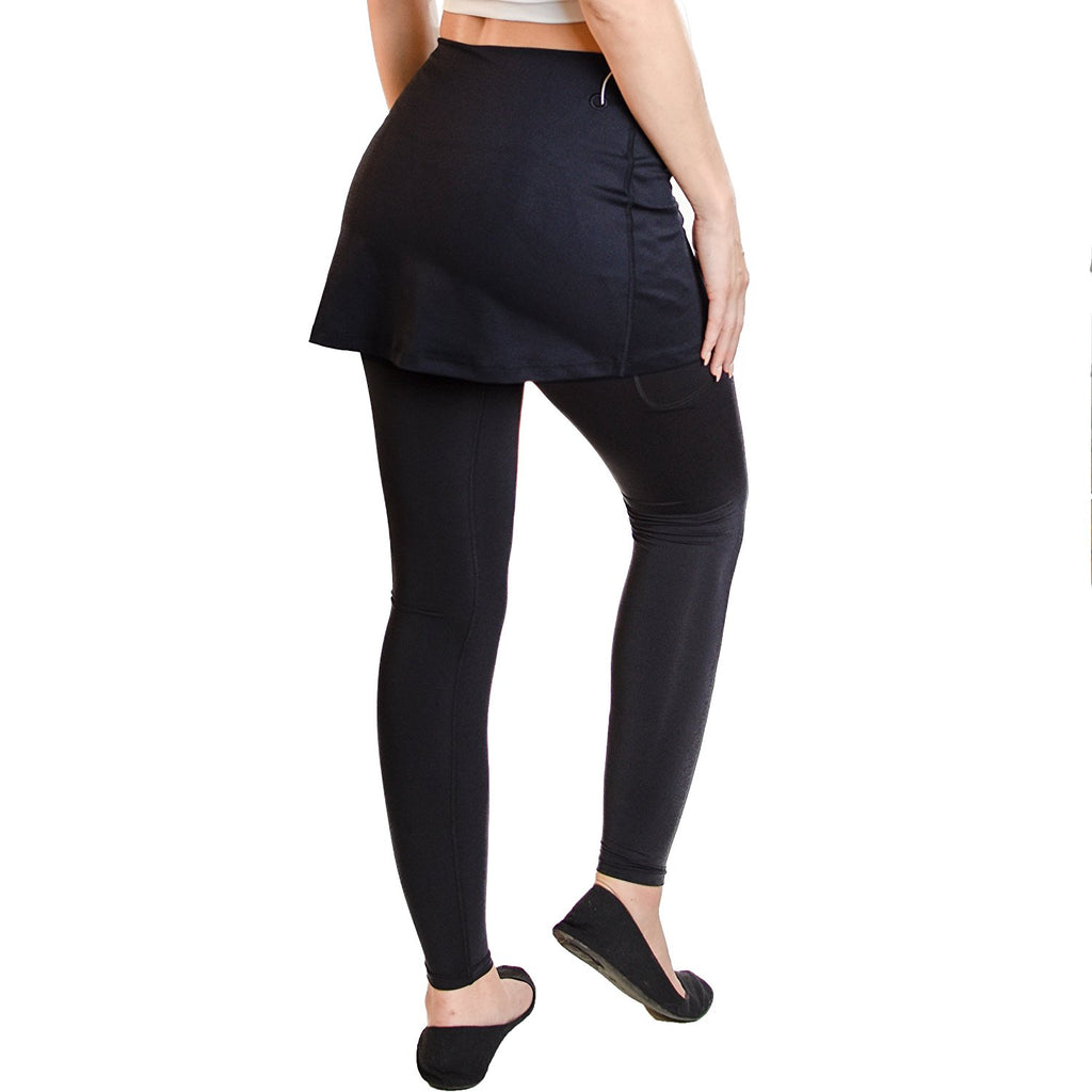 Go Sport-it: SKIRTED LEGGINGS with Pockets and Tummy Control