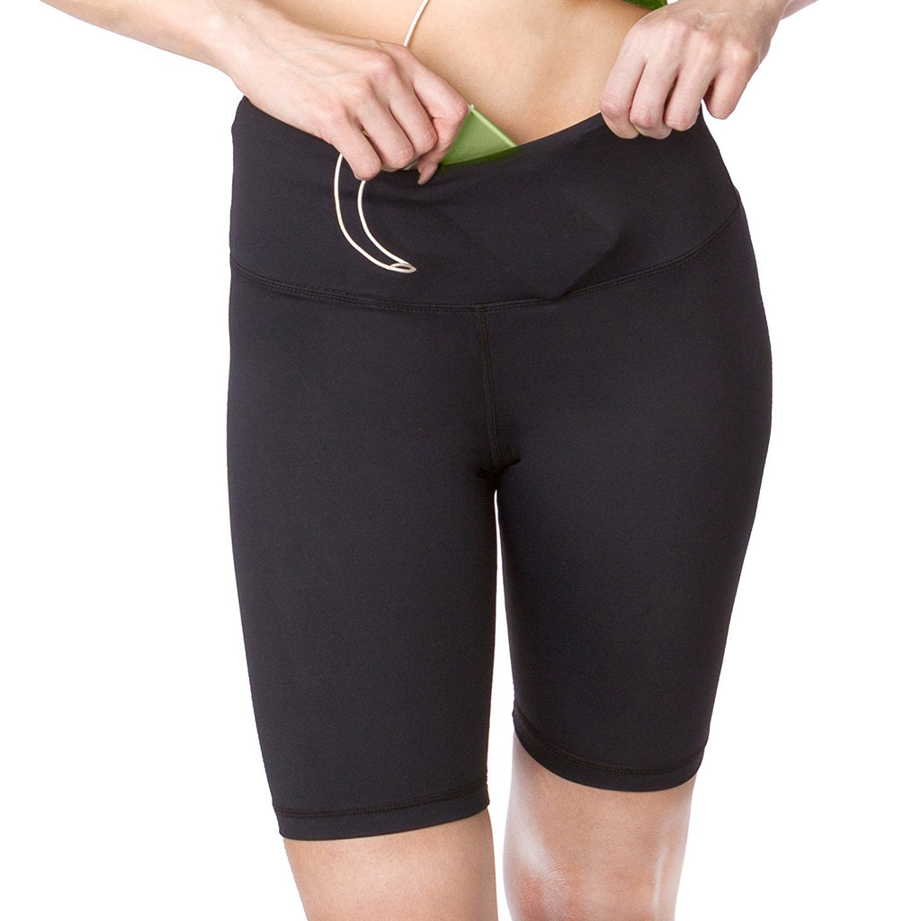 Go Sport-it: LONG RUNNING SHORTS with Pocket and Tummy Control