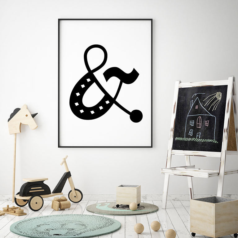 Ampersand Symbol - Wall Decor