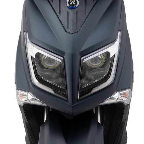 scooter electrique sunra hawk phare avant zoom