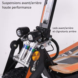 trottinette electrique e rex 2000 lingenious suspension