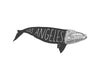 """Los Angeles Whale"" Print"