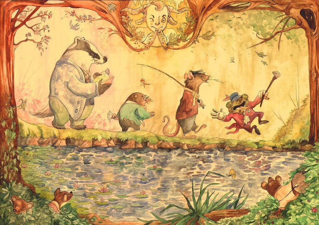 "Taylor Blue ""Wind in the Willows"""