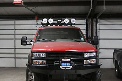 Custom Winch Bumper for Chevy GMC Trucks 1988-1998  Made to order from RLC
