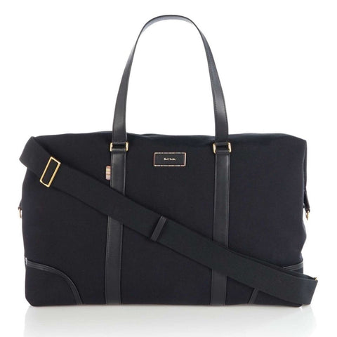 Paul Smith - Signature City Holdall Travel Bag in Black