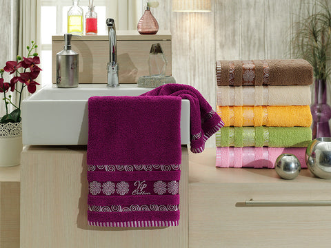 """GIRDAP""6Pcs  Towels Set"