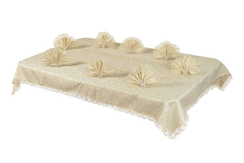 Sultan Table Cloth  Set ''Cappiccino''