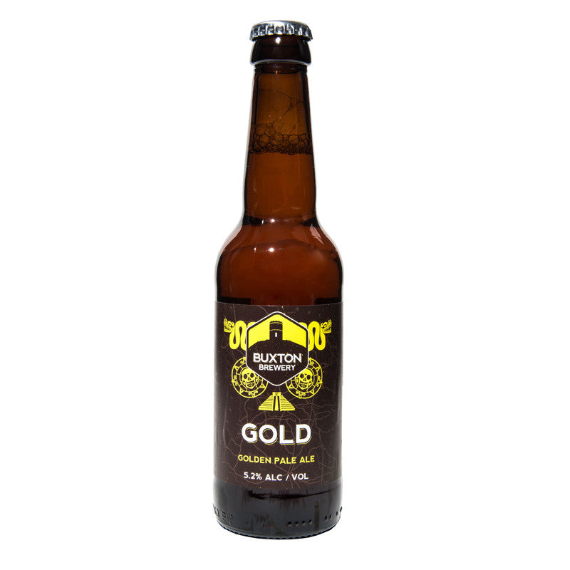 Gold British Golden Pale Ale Buxton Bottle