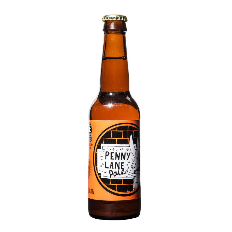 Penny Lane British Pale Ale Madhatter Bottle